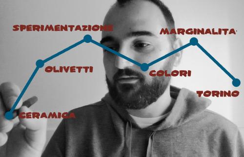 Ettore Sottsass, itinerario in sei parole