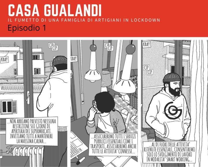 Il fumetto dei Gualandi – Episodio 1